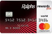 Ralphs rewards plus Visa Card