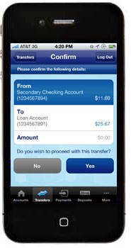 Managing your Kroger REWARDS World Mastercard® with iPhone